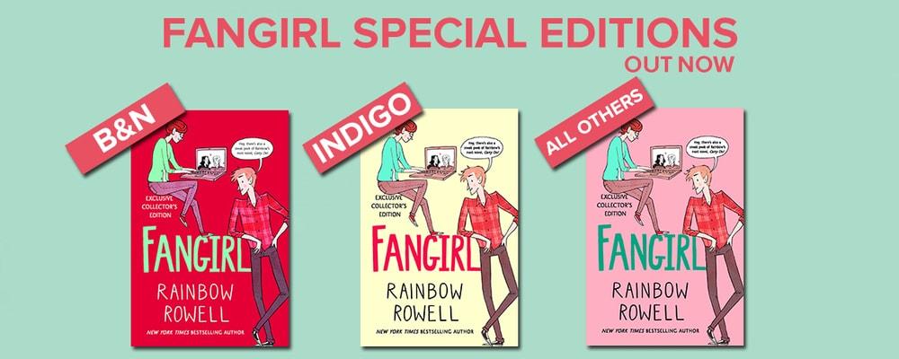 Fangirl – specijalna engleska izdanja
