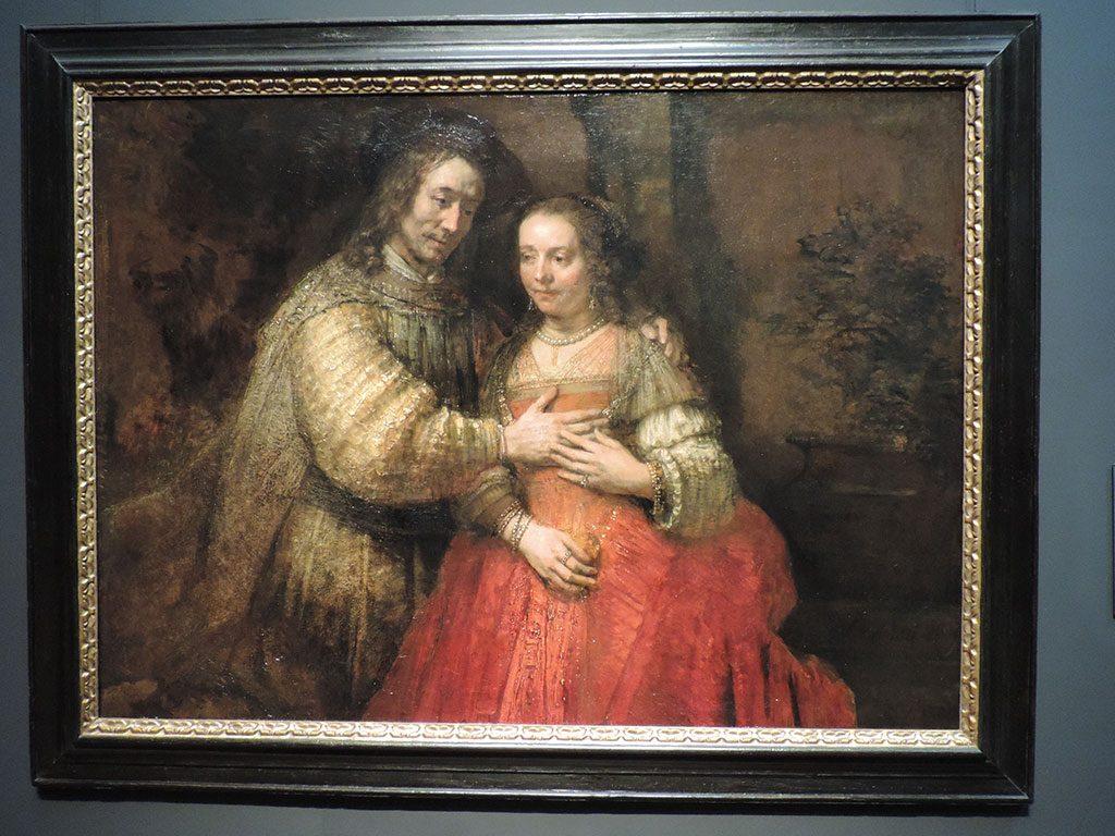 "Jevrejska nevesta (poznato i kao ""Isak i Reveka""), 1665-1669 – Rembrant, Nacionalni muzej, Amsterdam"