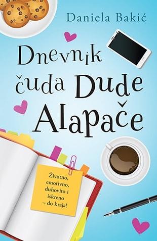 Dnevnik čuda Dude Alapače Korice knjige
