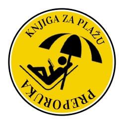 Stiker knjiga za plažu