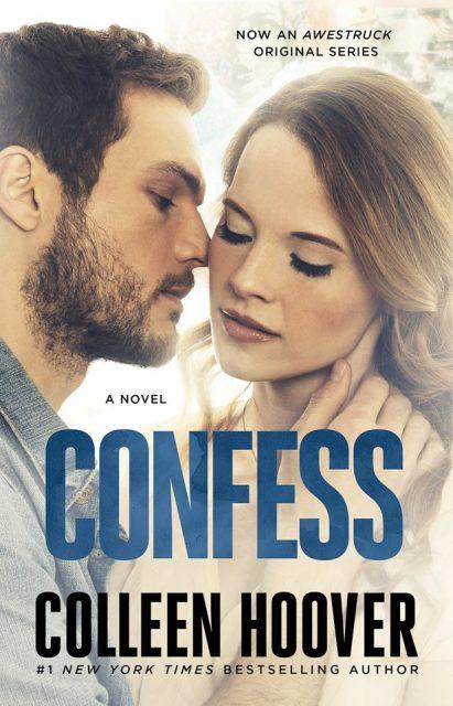 Confess – Colleen Hoover – TV korice novog izdanja knjige