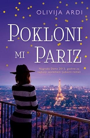 Pokloni mi Pariz Korice knjige