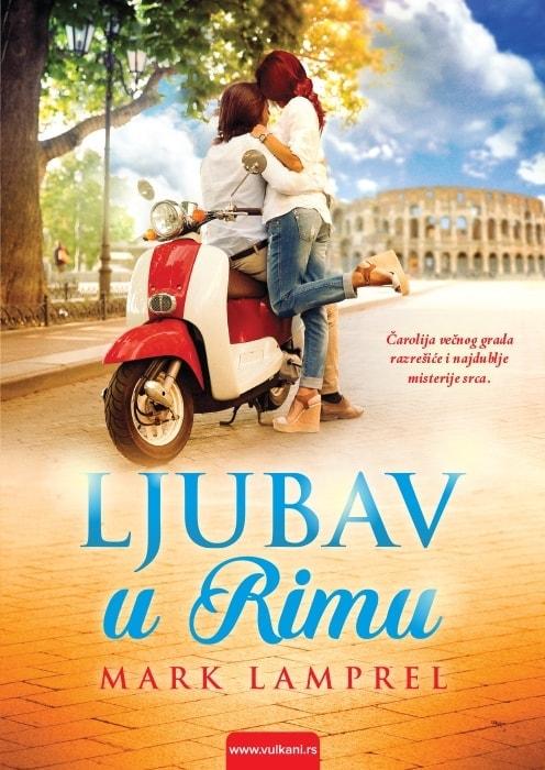 Ljubav u Rimu Korice knjige