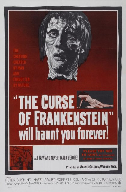 The Curse of Frankenstein – film iz 1957.