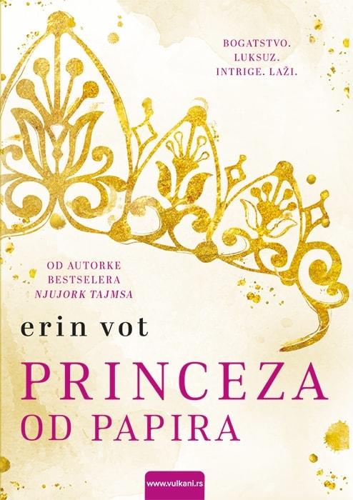 Princeza od papira Korice knjige