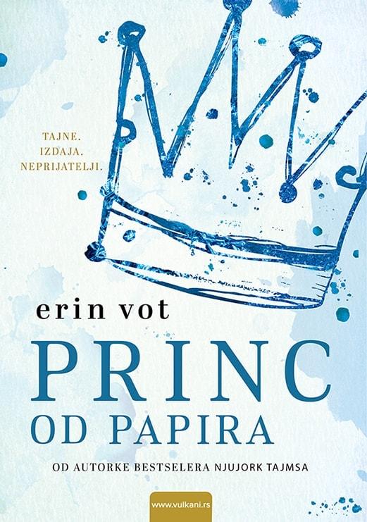 Princ od papira Korice knjige