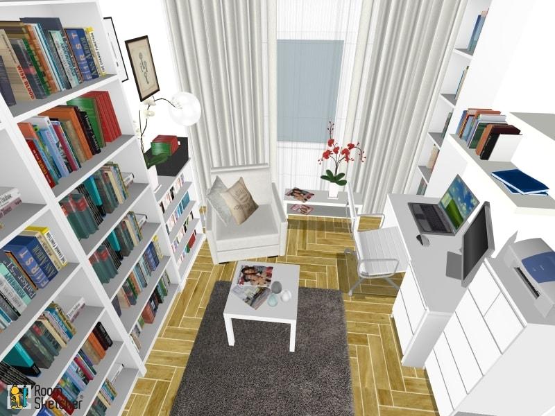 Nova biblioteka i radna soba